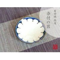 Edo hana tenmon Small plate (10.6cm)