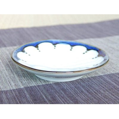 Photo2: Edo hana tenmon Small plate (10.6cm)