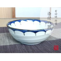 Edo hana ten-mon Medium bowl (16.5cm)