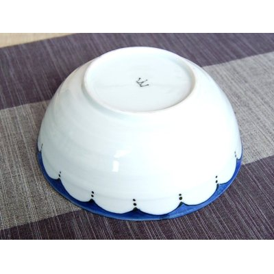 Photo3: Edo hana ten-mon Medium bowl (16.5cm)