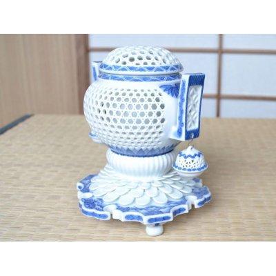 Photo2: Sukashi bori Incense burner